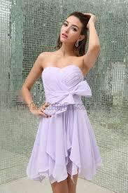 lilac chiffon short bridesmaid cocktail party dresses