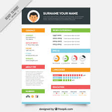 Best One Page Resume Format by 10 Top Free Resume Templates Freepik Blog