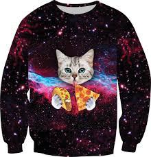 galaxy sweater size xs 6xl fashion galaxy sweatshirt print cat panda