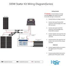 300 watt off grid monocrystalline solar starter kit hqst solar
