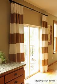 White House Gold Curtains by Ideas U0026 Tips Horizontal Striped Curtains With Modern Design Sofa