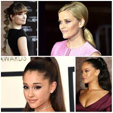 easy to do ponytail hairstyle ideas from celebrities u2013 haircuts