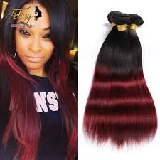 ombre weave ombre 2 tone hair ombre hair