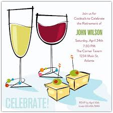 Retirement Invitation Wording Cocktail Party Invitation Wording U2013 Gangcraft Net
