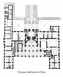 Sistine Chapel Floor Plan The Square And The Palazzo Barberini In Rome Italy Palazzo