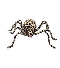 Joanns Halloween Fabric Leopard Spider Large Joann