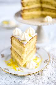 gin passionfruit and lemon layer cake supergolden bakes