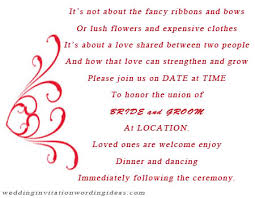 wedding invitation quotes informal wedding invitation wording exles