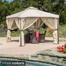 Gazebo Or Pergola by Gazebos U0026 Pergolas Shop The Best Deals For Oct 2017 Overstock Com