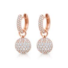 baby diamond earrings baby hoop earrings with diamond spheres pinner