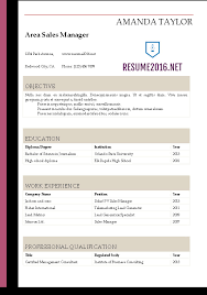 ms word resume templates resume 2016 resume templates in word