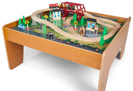 thomas the train wooden track table kids train tables toys r us