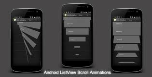 android listview exle android listview animations android has features such as