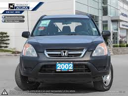pre owned 2002 honda cr v lx well serviced bc vehicle