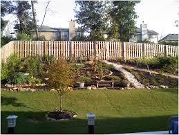 backyards outstanding backyard slope landscaping ideas backyard