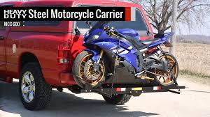 Tire Rack Motorcycle Heavy Duty Steel Motorcycle Carrier Youtube