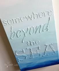 glue canvas art the crazy craft lady