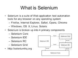 pubman and selenium tests what is selenium selenium is a suite of