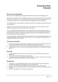 Plan Template Restaurant Business Plan Template