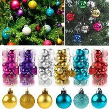 24pcs tree balls decorations baubles wedding