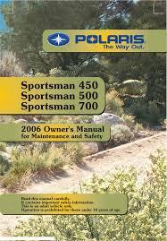 polaris offroad vehicle sportsman 450 pdf owner u0027s manual free