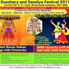 dusshera and dandiya festi rivermead leisure centre reading