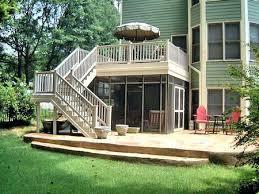 screen porch design plans porch and patio design deck design with screen porch below deck