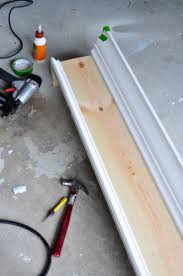 How To Make Window Cornice Remodelaholic How To Build And Hang A Window Cornice