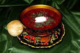 cuisine traditionnelle russe borsch russe борщ ou borscht cuisinestyle