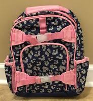 Pottery Barn Mackenzie Backpack Pottery Barn Kids Mackenzie Blue Rainbow Small Backpack New