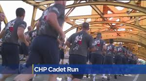 Chp Call Log by Chp Cadets Run To State Capitol In Graduation Tradition Cbs