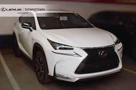 lexus nx ultra white new vehicle inventory lexus downtown