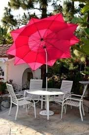 Pink Outdoor Furniture by Wind Resistant Patio Umbrellas Foter