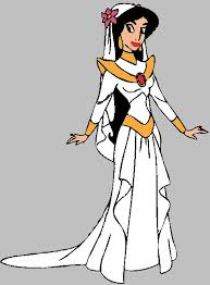 wedding dress clipart princess costume pencil and in color