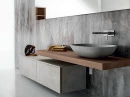 Badezimmer Umbau Ideen Hängender Waschtischunterschrank Aus Holz Mit Schubladen Via