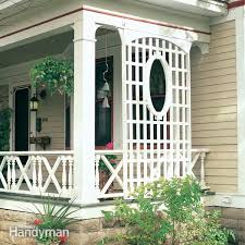 Front Porch Trellis Designs