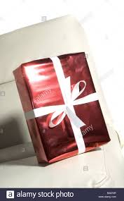 leather sofa knows gift package red bow christmas gift birthday
