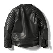 ljyh boys faux leather jacket children s collar