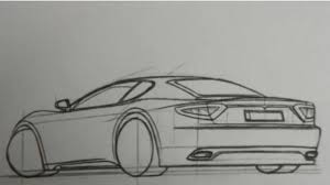 how to draw a car 3d step by step hd maserati youtube