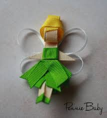 tinkerbell ribbon sculpture by penniebabyboutique on etsy 4 00
