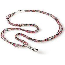 woman necklace holder images Id badge holder necklace necklace jpg