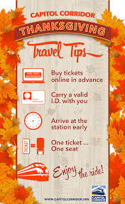 service information for thanksgiving week 2015 travel capitol