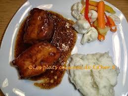 cuisiner haut de cuisse de poulet les plats cuisinés de esther b hauts de cuisses de poulet au