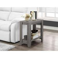 End Table Ls For Living Room Gray Accent Tables Living Room Furniture The Home Depot