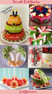 fruit carvings and watermelon cake designs roundup from icedjems
