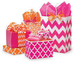 pink gift bags has never looked so bright