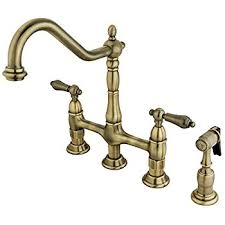 vintage kitchen faucets danze d404557ac opulence two handle kitchen faucet with side spray