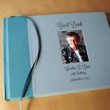customizable guest books custom guest book special events celebrations
