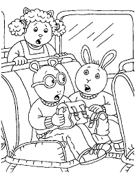 arthur coloring pages