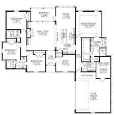 bi level house floor plans house plans 4 bedroom house floor plan master br upstairs